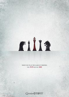 Game Of Thrones | Minimalist Tv Show Poster