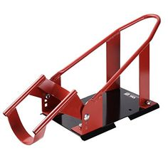 Goplus Motorcycle Wheel Chock Cradle Scooter Bike Stand Lift Mount Trailer (Red). For product info go to:  https://www.caraccessoriesonlinemarket.com/goplus-motorcycle-wheel-chock-cradle-scooter-bike-stand-lift-mount-trailer-red/