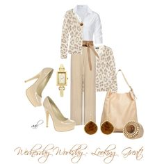 Wednesday Workday - Looking Great!, created by decoratorlady on Polyvore