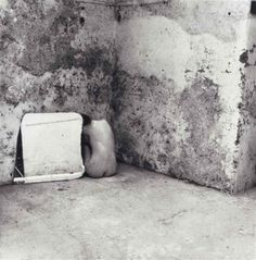 Self-deceit #6, Rome by Francesca Woodman