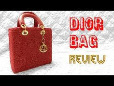 (5) Dior Lady Bag Review - YouTube
