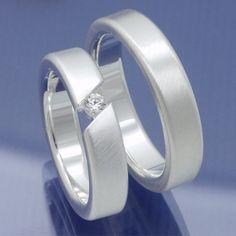 Verlobungsringe Freundschaftsringe 925 Silber P6236806