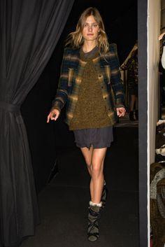 Isabel Marant Fall 2014 Ready-to-Wear Fashion Show Beauty