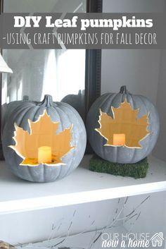 Easy Fall Crafts, Fun Diy Crafts, Thanksgiving Crafts, Fall Diy, Holiday Crafts, Creative Crafts, Fall Halloween, Halloween Crafts, Halloween Decorations
