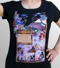 0be1a8f61 Our handmade t-shirts are inspired by the re-birthing of Persian art