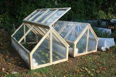 Mini Greenhouse ideas for the home gardener.