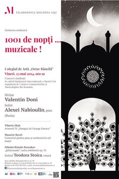 "Filarmonica Iași: ""1001 de nopți… muzicale!"", concert simfonic în cadrul SiMN Orchestra, Georgia, Words, Movie Posters, Film Poster, Band, Billboard, Horse, Film Posters"