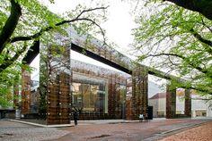 Musashino Art University Museum & Library - Sou Fujimoto by Scott Norsworthy, via Flickr