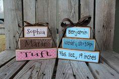 Name blocks Baby Expo Craft*