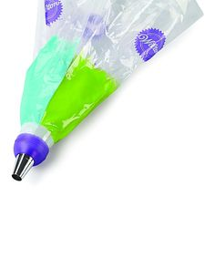 Wilton Coupler Decorating Set | zulily  .$6.49 / $7.99  . Product Description:  The three-color coupler seamlessly blends two or three icings together as you pipe. Double-swirl or triple-swirl colors for awesome cake decoration.      Includes six decorator bags and piping tips 1M and 1A     Plastic     Hand wash     Imported