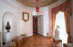 Grand Palais - Intérieur - Pavlovsk - Le Second Cabinet de Passage - Décoré par Vincenzo Brenna en 1799.