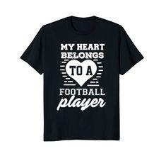My Heart Belongs To A Football Player Love Ladies T-Shirt... https://www.amazon.com/dp/B07CH3CPFB/ref=cm_sw_r_pi_dp_U_x_H4o2Ab4E0KF7W
