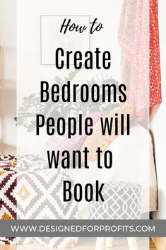 Houseplants for Better Sleep Airbnb Host Tips To Creating Rooms People Will Want To Book. Tips On Airbnb Decor Bedroom Ideas. Guest Room Decor, Bedroom Decor, Bedroom Ideas, Bed Ideas, Decor Room, Design Bedroom, Air Bnb Tips, Guest Room Essentials, Airbnb Design