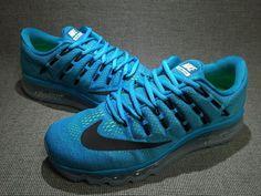 NIKE AIR MAX Running Shoe Blue Lagoon 806771-400
