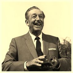 Walt Disney; 1966 - Love his smile!