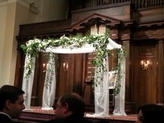 My cousins had a beautiful chuppah.