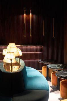 Tuya restaurant offer awesome interior designed by Twins studio. Restaurant Offers, Restaurant Bar, Restaurant Interior Design, Fine Dining, Vienna, Twins, Studio, Awesome, Home Decor