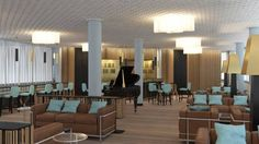 Lobby Bar & Terrasse - Hotel Eurotel Lobby Bar, Restaurants, Conference Room, Hotels, Table, Furniture, Home Decor, Decoration Home, Room Decor