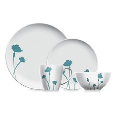 New Dansk Lotta Jansdotter Stilla Teal Dinnerware Collection | Exclusively at Bed, Bath & Beyond