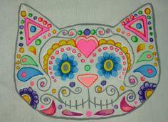 Mexican Cat...♡ Dia de muertos