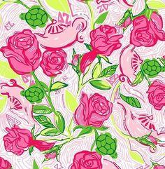 Lily pulitzer wallpaper  Delta Zeta