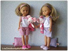 Vêtements poupées, habits poupée compatible les chéries de corolle est une création orginale de lesCouturesdeMagda sur DaWanda