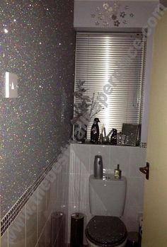 1000 images about glitter rhinestones sparkles on for Stardust purple bath collection