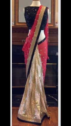 Beautiful Red Designer Bollywood saree online ,Veeshack.com   Fashion for the World - 1