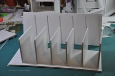 DIY Foam Board Copic Storage