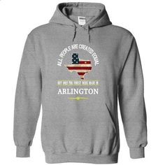 Proud Of Being Born In ARLINGTON Tee! - #black tshirt #pullover sweater. CHECK PRICE => https://www.sunfrog.com/LifeStyle/Proud-Of-Being-Born-In-ARLINGTON-Tee-SportsGrey-7507150-Hoodie.html?68278