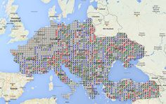 Choosing where to go on vacation in Europe