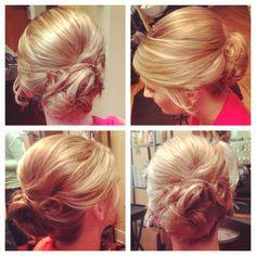 Wedding up style #updo #wedding #hair #blonde