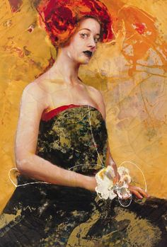 The Color of Dew by Lita Cabellut