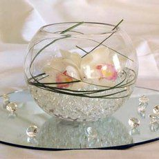 Perles d'eau gel effet cristal