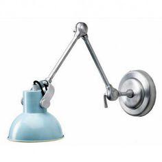 Væglampe i antik blå fra Bloomingville - Bloomingville - Populære Brands