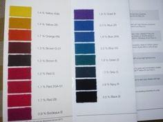 Lanaset Farbset -  17 Farben - je 10 g