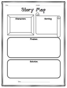 Free Story Map Printable   Pinteres