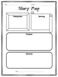 simple story map and many other great ideas