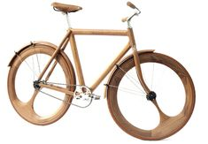Thanks to lifelounge for pointing us towards this exceptional feat of design and construction by Dutchman Jan Gunneweg. This guy's ability to create just about anything and everything out of wood is incredible. An industrial designer by trade, he has turned his attention to his homeland's favourite mode of transport, the bike. Everything with the …