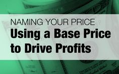 Naming Your Price: Using a Base Price to Drive Profits | Photofocus  post by wedding cinematographer Ray Roman,