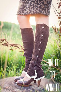 #lace #bootsocks #giveaway #pin it to #win it!  One lucky winner will receive a FREE pair on August 7th!