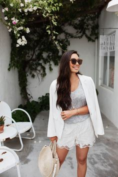 805a8a4b87 White Lace Shorts for Summer. My Unique Style