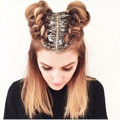 """Confira tudo sobre o """"glitter root"""", nova moda pro cabelo!"""