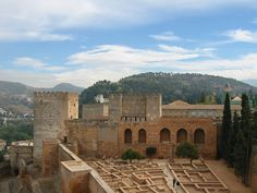 Alcazaba, Granada, Andalucía, Spain Andalucia Spain, Andalusia, Basque Country, Granada, Spanish, Mansions, House Styles, Places, Grenada