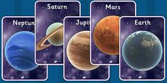 Year 5 Earth and Space Primary Resources - New 2014 Curriculum