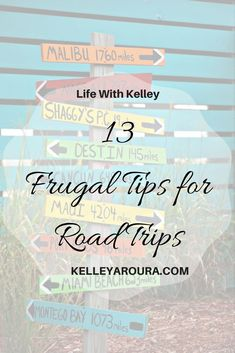 Road trips are a great way to have time away without breaking the bank. You can make your road trips even more frugal by learning some tricks to save. Rv Travel, Budget Travel, Time Travel, Family Travel, Travel Tips, Travel Hacks, Travel Packing, Travel Essentials, Travel Ideas