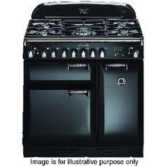 Rangemaster Elan 90 Dual Fuel Cooker BLK