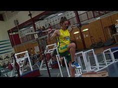Marianna Tolo rehabs torn ACL at AIS - YouTube