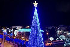 Τι ωραία! Ο Βόλος φέτος έχει το ψηλότερο χριστουγεννιάτικο δέντρο στην Ελλάδα με 1 εκατομμύριο λαμπιόνια (Φωτό & Βίντεο) | eirinika.gr