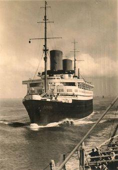 Norddeutscher Lloyd EUROPA later 1930s via Todd Neitring